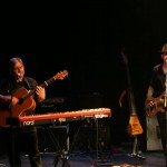 With Maggie Reiily at the Tron Theatre, Glasgow 2011 #1