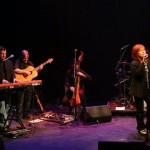 With Maggie Reiily at the Tron Theatre, Glasgow 2011 #2