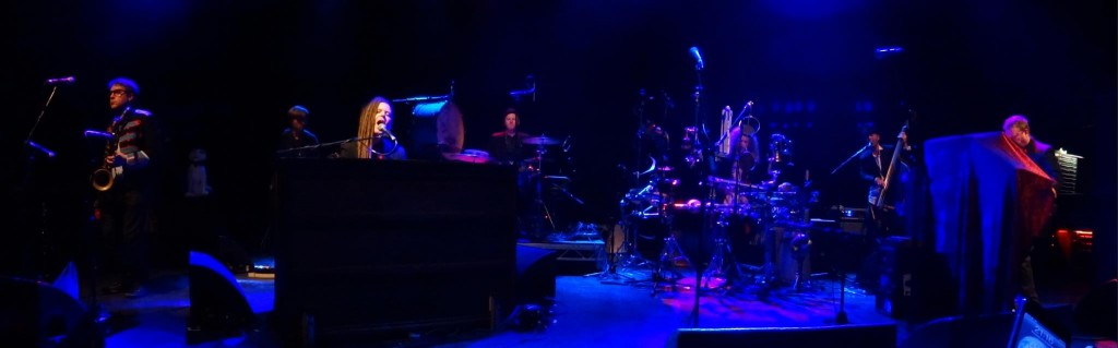 Duke Special & Band on stage at Shepherds Bush Empire