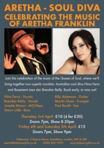 Aretha April 2014 Flyer